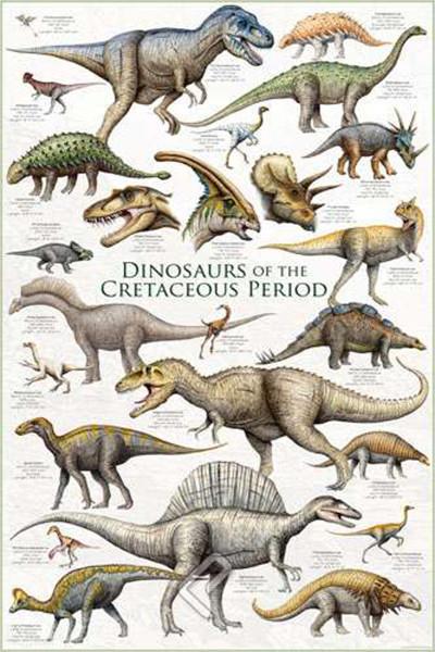 2450-0098 Dinosaurs Cretaceous