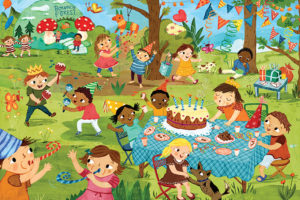 2400-0468-Birthday Party Party Time!-36x24