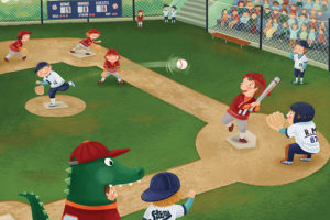 2400-0484-Baseball Junior League-36x24
