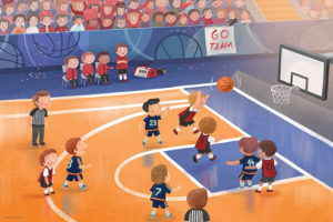 2400-0495-Basketball Junior League-36x24