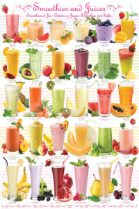 2400-0591-Smoothies & Juices-24x36