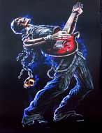 ER4532 Guitar Hero Grave