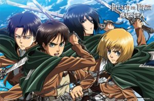 RP14017-Attack On Titan - Swords