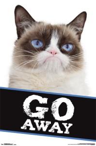 RP14303-Grumpy Cat - Go Away