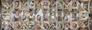 2390-0960-The Sistine Chapel Ceiling-36x11.75