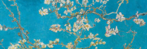2390-64596-Almond Branches in Bloom, San Remy, detail-11.75x36
