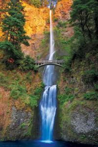 2400-0546-Multnomah Falls, Oregon-36x24
