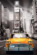 2400-0657-New York City Yellow Cab-24x36