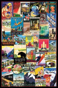 2400-0754-Travel USA Vintage Ads-36x24