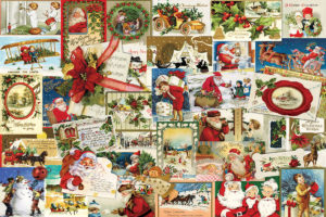 2400-0784-Vintage Christmas Cards-36x24