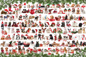 2400-0939-Holiday Dogs-36x24