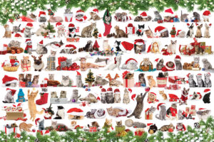 2400-0940-Holiday Cats-36x24