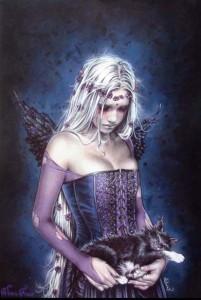 ER4132 Victoria Frances Angel Death (Kitten)