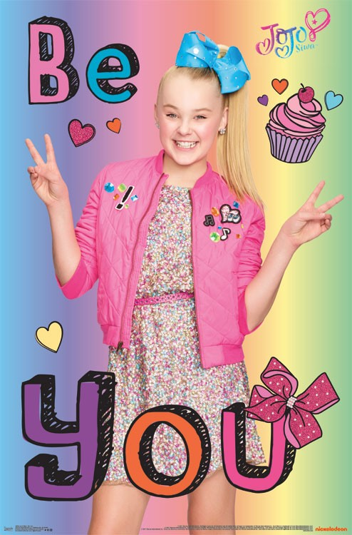 Jojo Siwa Be You Athena Posters
