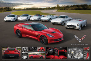 2400-0736-2014 Corvette Stingray-36x24