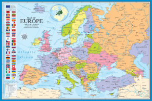 2400-0789-Map of Europe-36x24