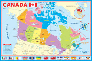2400-0797-Map of Canada-36x24