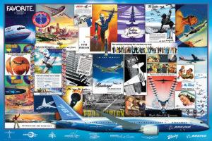 2400-0932-Boeing Vintage Ads-36x24