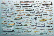 2450-0578-Evolution of Military Aircraft-36x24
