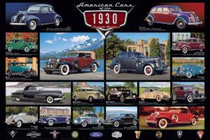 2450-0674-1930's Cruisin' Classics-36x24