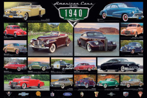 2450-0675-1940's Cruisin' Classics-36x24