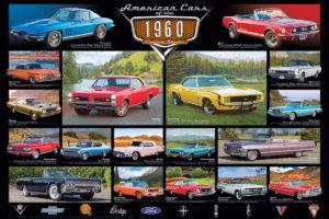 2450-0677-1960's Cruisin' Classics-36x24