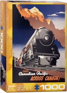 6000-0324-CP Rail Travel CPR- Item# 6000-0324 - Puzzle size 19.25x26.5 in