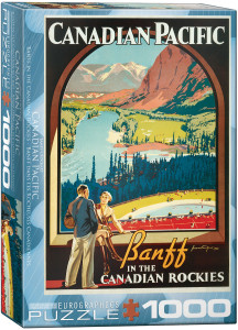 6000-0327-Banff in the Canadian Rockies - Item# 6000-0327 - Puzzle size 19.25x26.5 in