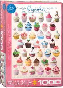 6000-0409-Cupcakes- Item# 6000-0409 - Puzzle size 19.25x26.5 in