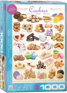 6000-0410-Cookies- Item# 6000-0410 - Puzzle size 19.25x26.5 in