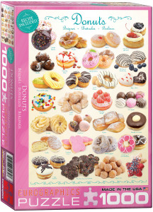 6000-0430-Donuts- Item# 6000-0430 - Puzzle size 19.25x26.5 in