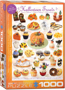 6000-0432-Halloween Treats- Item# 6000-0432 - Puzzle size 19.25x26.5 in