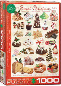 6000-0433-Sweet Christmas- Item# 6000-0433- Puzzle size 19.25x26.5 in