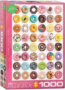 6000-0585-Donuts Tops- Item# 6000-0585 - Puzzle size 19.25x26.675 in