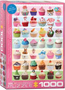 6000-0586-Cupcake Celebration- Item# 6000-0586 - Puzzle size 19.25x26.5 in