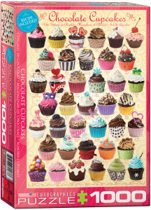 6000-0587-Chocolate Cupcakes- Item# 6000-0587 - Puzzle size 19.25x26.675 in