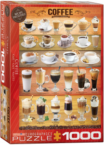 6000-0589-Coffee- Item# 6000-0589 - Puzzle size 19.25x26.5 in