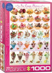 6000-0590-Ice Cream Flavours- Item# 6000-0590 - Puzzle size 19.25x26.675 in