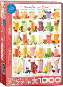 6000-0591-Smoothies and Juices- Item# 6000-0591 - Puzzle size 19.25x26.675 in