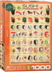 6000-0597-Sushi- Item# 6000-0597 - Puzzle size 19.25x26.675 in