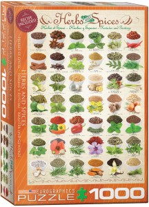6000-0598-Herbs and Spices- Item# 6000-0598 - Puzzle size 19.25x26.675 in