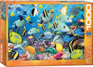 6000-0625-Ocean Colors- Item# 6000-0625 - Puzzle size 26.675x19.25 in