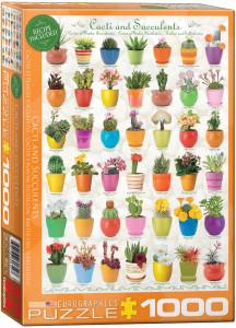 6000-0654-Cacti & Succulents- Item# 6000-0654 - Puzzle size 19.25x26.675 in