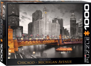 6000-0658-Chicago- Item# 6000-0658 - Puzzle size 26.675x19.25 in