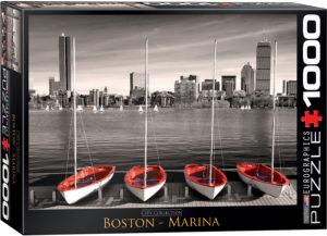 6000-0661-Boston Marina- Item# 6000-0661 - Puzzle size 26.675x19.25 in
