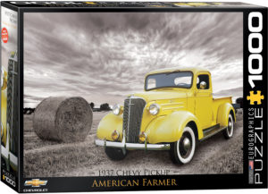 6000-0666-1937 Chevy Pick-up American Farmer- Item# 6000-0666 - Puzzle size 19.25x26.675 in