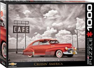 6000-0667-1948 Fleetline Aerosedan Cruisin' America- Item# 6000-0667 - Puzzle size 19.25x26.675 in