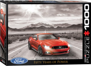 6000-0702-2015 Ford Mustang GT Fifty Years of Power- Item# 6000-0702 - Puzzle size 26.675x19.25 in