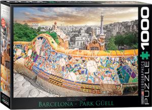 6000-0768-Barcelona Park Güell- Item# 6000-0768 - Puzzle size 26.5x19.25 in