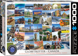 6000-0780-Globetrotter Canada- Item# 6000-0780 - Puzzle size 26.5x19.25 in
